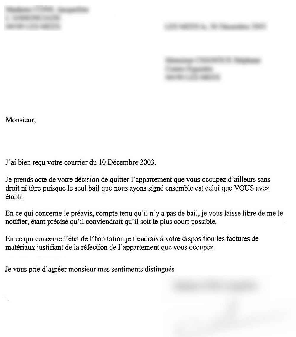 Rtf Exemple Lettre Garant Logement